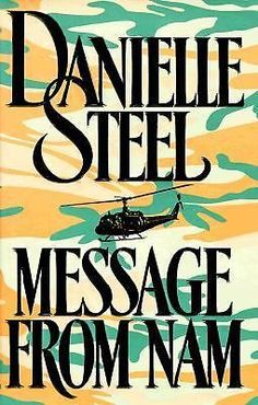 Ebay: MESSAGE From NAM by Danielle Steel  (1990, Hardcover)