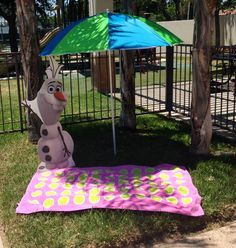 Olaf frozen Party in summer