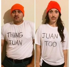 Mexican Halloween costume 2014. Thing Juan & Juan too. This year, we are adding our baby! Little Juan
