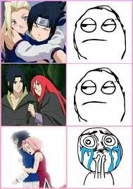 Image result for sasukarin vs sasusaku