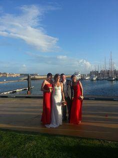 Bridesmaids in the Algarve....