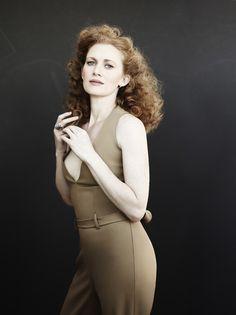 "Vanity Fair Spotlight Mystery Woman"" withMireille Enos - June 2013"