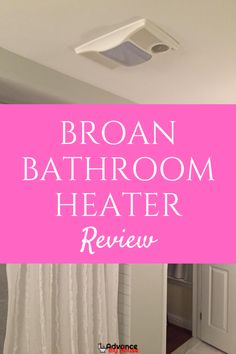 Broan Directionally-Adjustable Bathroom Heater Review    #AdvanceMyHouse #BathroomHeater #BestBathroomHeater #BathroomHeaterReviews #BroanBathroomHeater Navy Blue Bathrooms, Blue Bathrooms Designs, Small Bathroom With Shower, Modern Bathroom, Bathroom Sink Design, Bathroom Wall, Best Space Heater, Diy Heater, Bathroom Heater