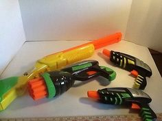 Buzz Bee Dart Gun Lot Of Four All Working Darts Included