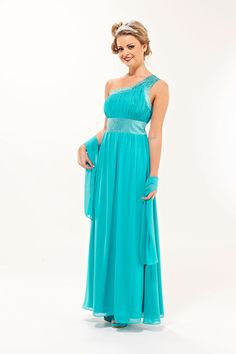 Ooooo la la Turquoise Eva Bridesmaid Dress, stand out from the crowd for a wedding or event.