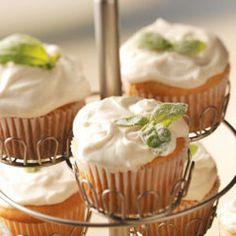 Lemon Basil Cupcakes Recipe
