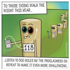 Challenge accepted... #isleofwight #iow #banter #illustration #cartoon #walkthewight2016 #2dart #graphicdesign #humour #caulkheads