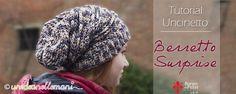 Come fare un berretto all'uncinetto di lana alla moda per ragazzi. E' facile da fare, basta seguire il tutorial con foto e spiegazioni.