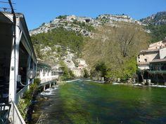 Fontaine de Vaucluse lundi de Pâques