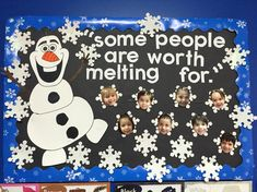 Olaf Frozen bulletin board