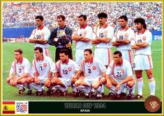 Fan pictures - 1994 FIFA World Cup United States. Spain team