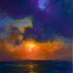 Thomas O'Brien Gallery of Original Fine Art Thomas O'brien, Gallery Website, Sunset Colors, Sky Art, Color Studies, Okinawa, Wood Paneling, Art For Sale, Study