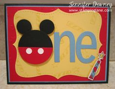 Stamping Lane: Mickey Mouse