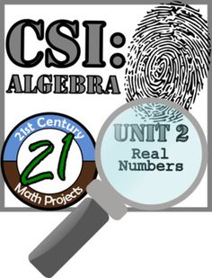 Nothing like a good criminal investigation to liven up number sense! In this project, students will work in teams to investigate the culprit of six fictional thefts. The criminal has left six messages, layered with algebra. Teams will work to build a case and present their