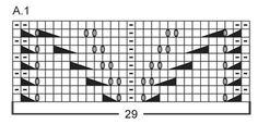 """Honey rose - Bufanda de punto DROPS con patrón de calados, en """"Big Merino"""". - Free pattern by DROPS Design"""
