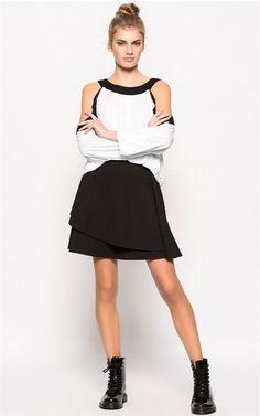 Ozsale - Long Sleeve Blouse White - Ozsale.com.au