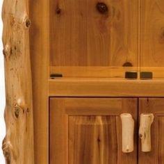 Fireside Lodge Furniture Cedar Display Cabinet