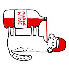gemma correll and her merry band of misfits: give the GIF of christmas