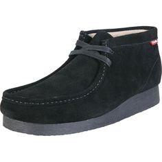Clarks - Men's Stinson Hi Wallabee Boot - Black Suede