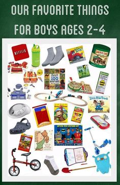 Our Favorite Things For Boys Ages 2 4 Little Boy Gift Ideas 3 Year Old