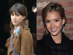 celebs with without makeup 24 Female celebs with and without their mask (32 Photos)