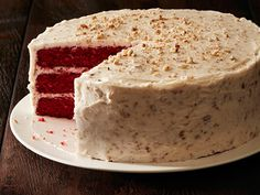 """Trisha Yearwood's Holiday Classics : """"You can never go wrong with cream cheese frosting! The pecans give it a nice flavor,"""" Trisha says."""
