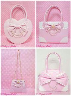 pink pink BAGS - ☮k☮ #pink