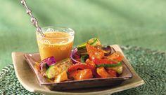 Roast Vegetable Salad with a PERi-PERi Twist Roasted Vegetable Salad, Roasted Vegetables, Veggies, Peri Peri Sauce, Veggie Dishes, Side Dishes, Vegetable Seasoning, Tray Bakes, Zucchini