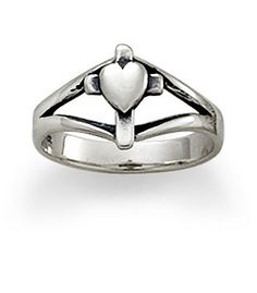 A James Avery ring my parents bought me when I was about ten years old. I call it my purity ring and I want to give it to my first born daughter one day. It means so much to me.