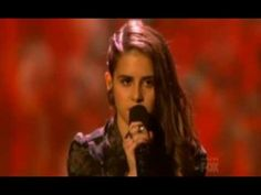Carly Rose Sonenclar - She's unreal. and thirteen. Like, I can't even.