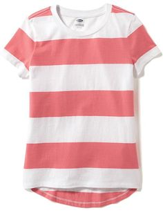Relaxed Shadow-Stripe Tee