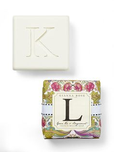 Letter Soaps - Fun Hostess Gift.  Letter Soaps      Make your pal feel special with this personalized pick. Bonus: This gift already comes wrapped!     Gianna Rose The Monogram Collection Bar Soaps, $11