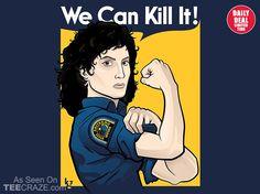 We Can Kill It T-Shirt - http://teecraze.com/daily-deal-5/ -  Designed by kgullholmen
