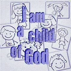 I am a child of God  2013 primary theme  printable