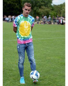 PTR Mens Antoine Soccer Griezmann Image Sweatpants