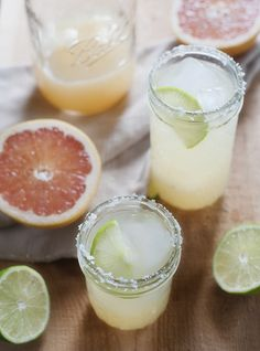 // pink grapefruit margarita