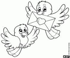 Omalovánka Malý ptáci