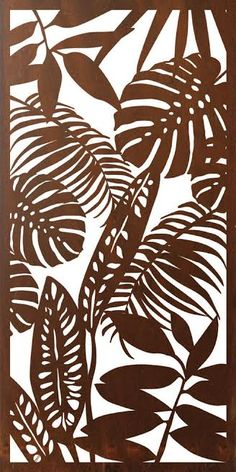 My latest screen design - Tropical.