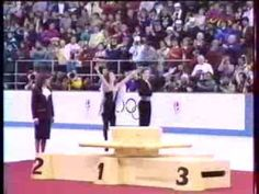 Medal Ceremony, Dance Event - 1992 Olympic Games