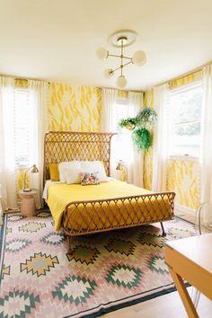 Elsie Larson's Bold And Colorful Nashville Home | Glitter Guide