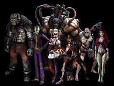 arkham asylum Arkham City, Arkham Asylum, Batman Arkham Series, Gotham Villains, Im Batman, Arkham Knight, Joker And Harley Quinn, Crusaders, Bat Family