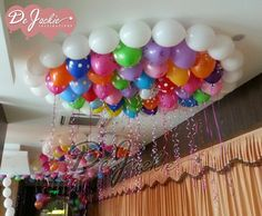 Balloon decorations for events such as weddings, birthday parties, corporate openings and launchings in Kuching and Sibu Sarawak. Birthday Pins, Birthday Parties, Balloon Ceiling, Diner Restaurant, Sibu, First Birthday Decorations, Kuching, Balloon Decorations, First Birthdays