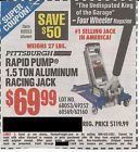 Coupon to save $50 on 1.5 Ton Aluminum Racing Jack @ Harbor Freight Tools - http://couponpinners.com/coupons/coupon-to-save-50-on-1-5-ton-aluminum-racing-jack-harbor-freight-tools/