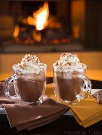 Fahéjas mandulás forró csoki