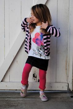This girl has style!!