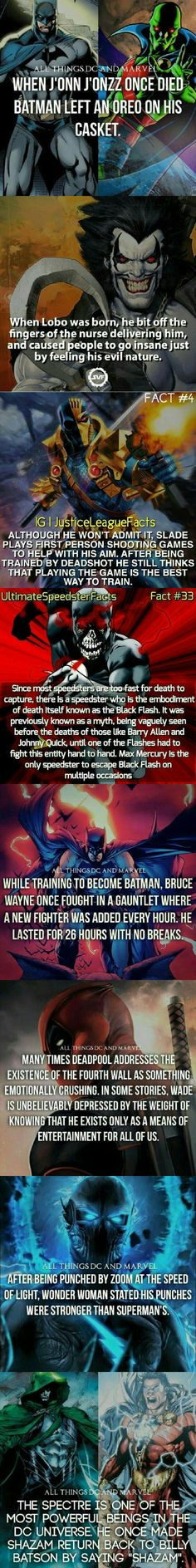 Marvel & Dc facts #8 - 9GAG