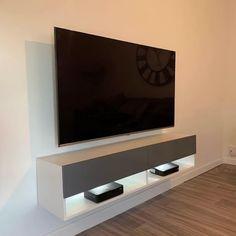 Modern Tv Room, Modern Tv Wall Units, Tv Unit Interior Design, Tv Wall Design, Living Room Tv Unit Designs, Tv Wall Unit Designs, Tv On Wall Ideas Living Room, Tv Stand Designs, Tv Cupboard Design