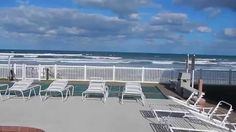 Point East Oceanfront Pool In New Smyrna Beach Florida