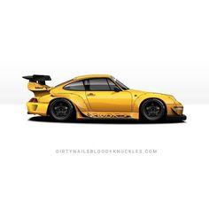 Mellow. Dirtynailsbloodyknuckles.com Link in profile #rwb #rauhwelt #rwb993 #rwb911 #porsche911 #porsche993 #carrera #carreras #jdm #nakai #jdmart #jdmart #carart #automotiveart #automotiveapparel #rwbrs #roughrhythm #nfs #speedhunters #ssr #ssrprofessor