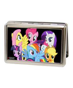 Look what I found on #zulily! Black My Little Pony Group Business Card Case by Buckle-Down #zulilyfinds